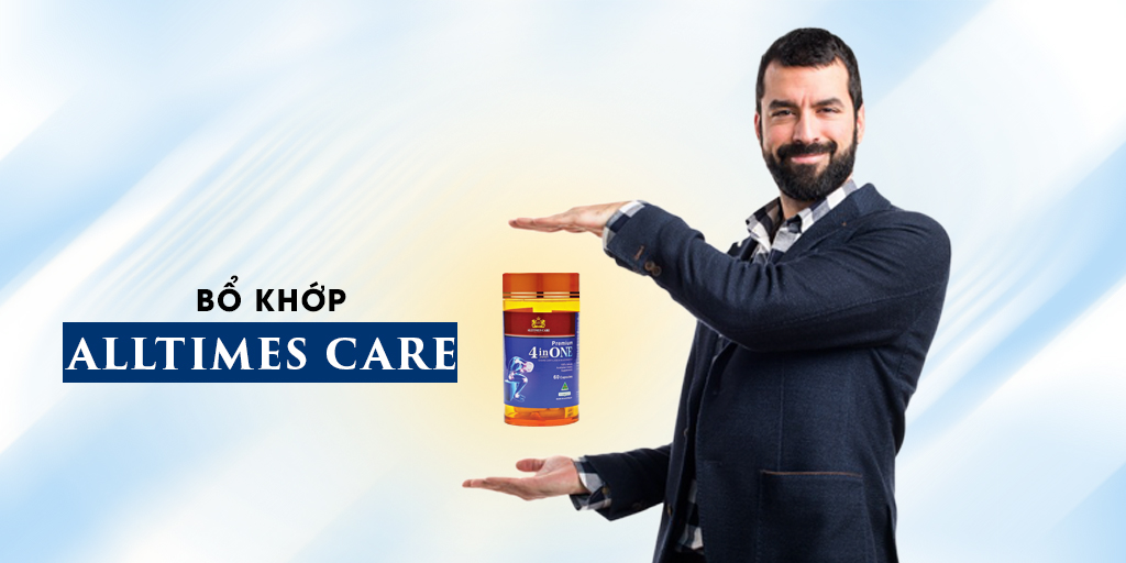 Thực phẩm bảo vệ sức khỏe - 4 in One Joint Alltimes Care