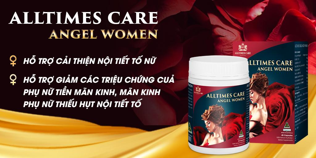 Công dụng tuyệt vời của Alltimes Care Angel Women